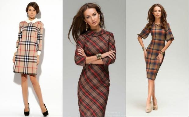 модные офисные платья весна-лето, фото 1
