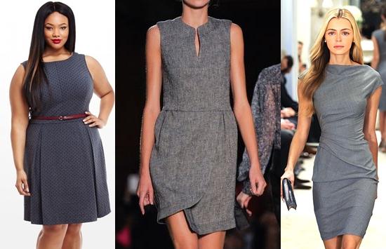 модные офисные платья весна-лето, фото 3