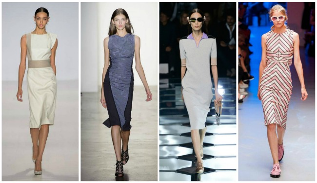 модные офисные платья весна-лето, фото 5