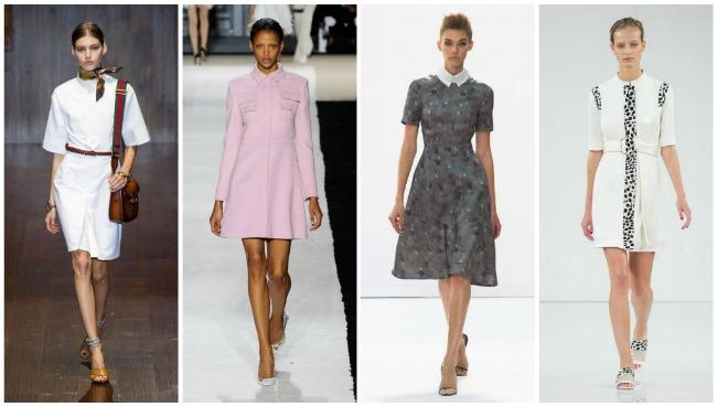 модные офисные платья весна-лето, фото 6
