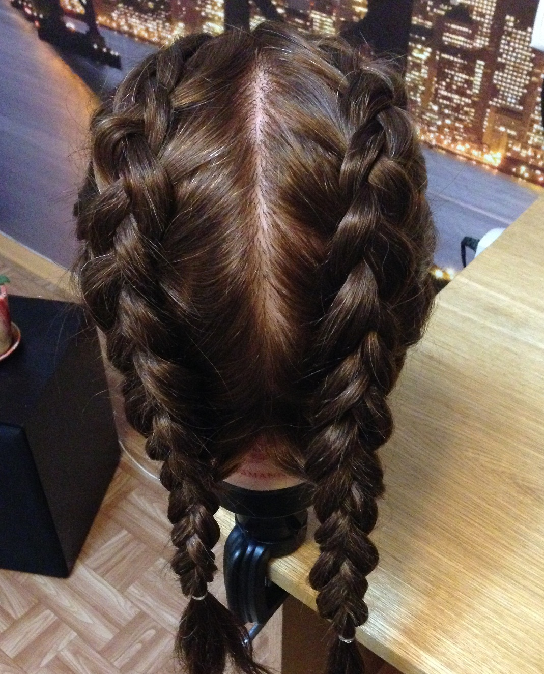прическа для девочек косы