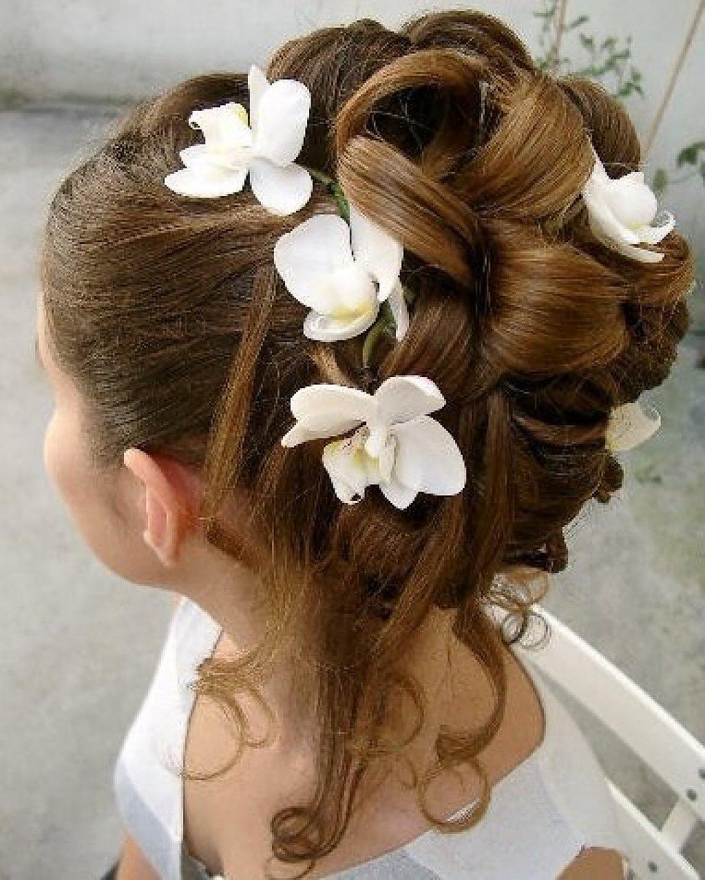 плетение волос на 1 сентября