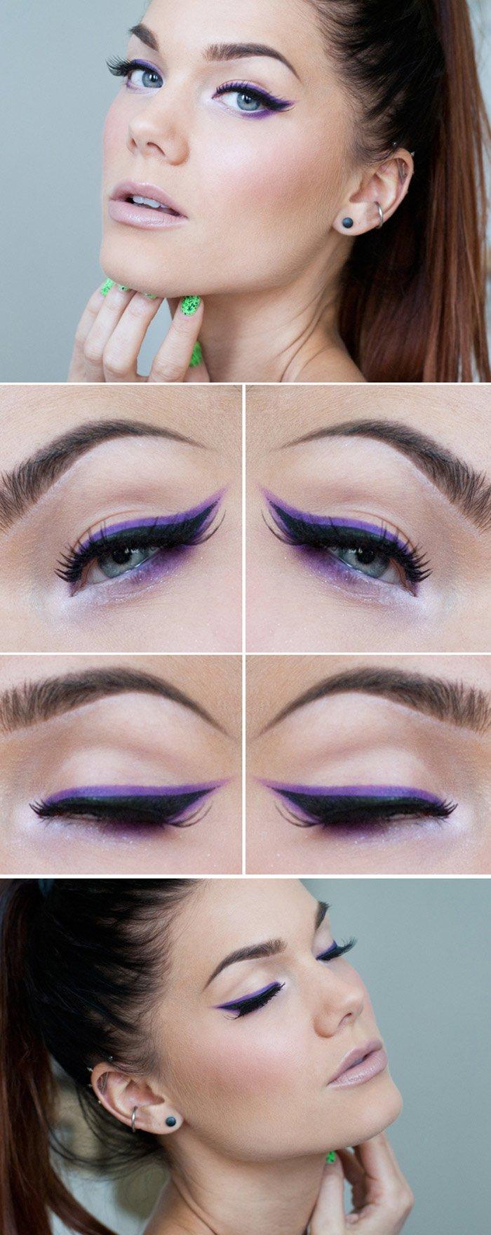 Kak pravil'no nanosit' novogodnij makijazh