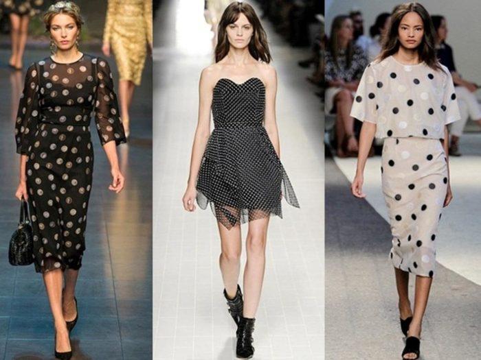 Модные тенденции платье