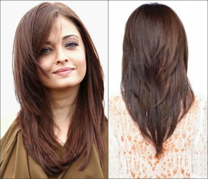 Женские прически на длинные волосы названия и 27