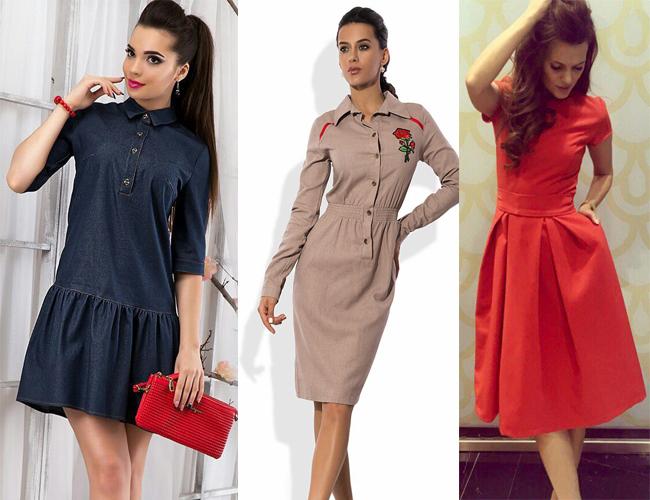Стильные платья 2018