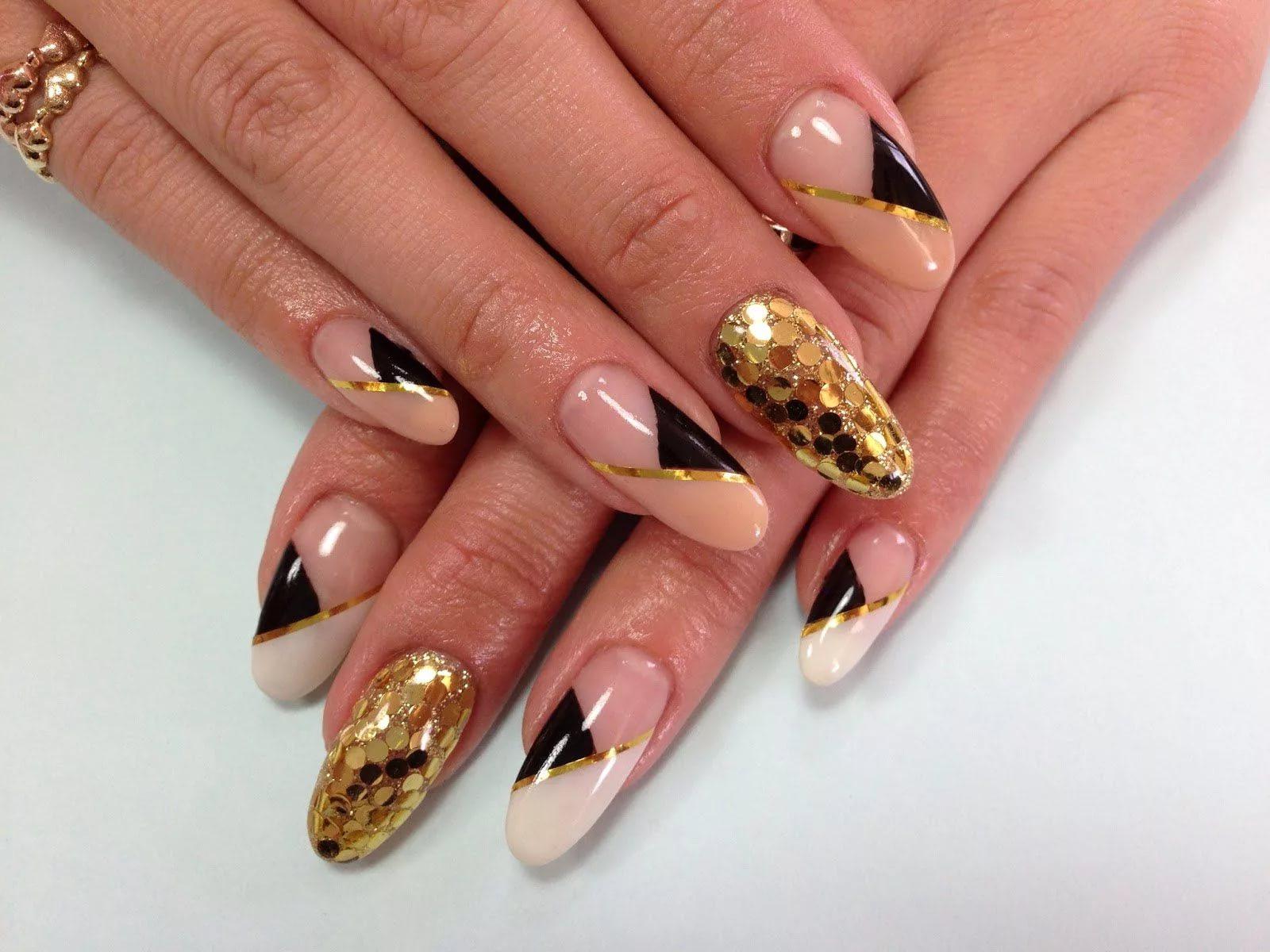 Дизайн для овальных ногтей 2017