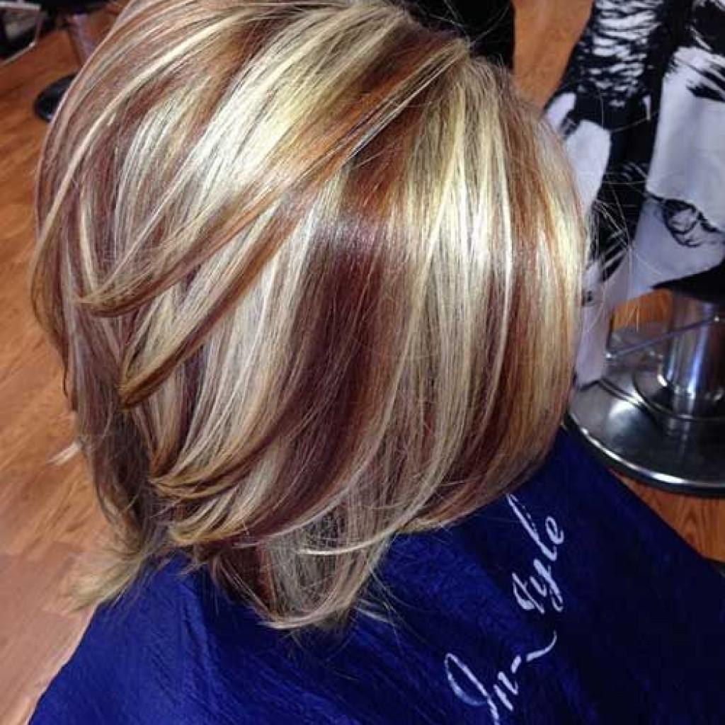 Цвета волос с цветом меди