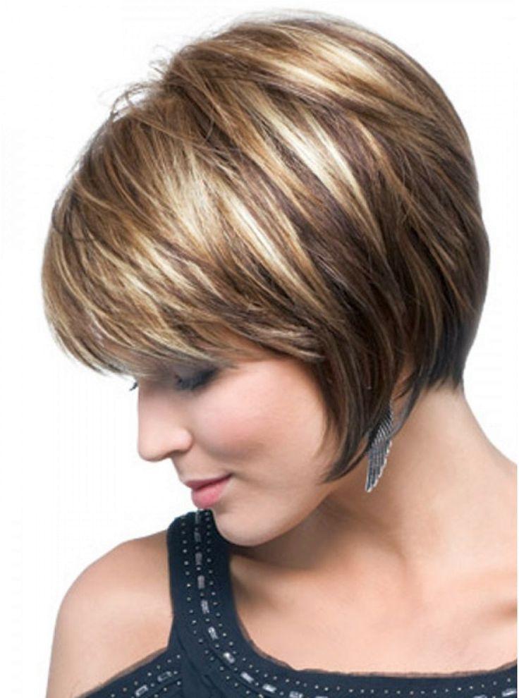 Мелирование коротких русых волос