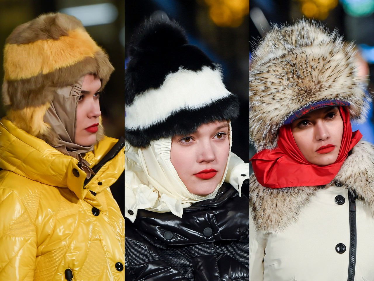Модные головные уборы 2017-2018