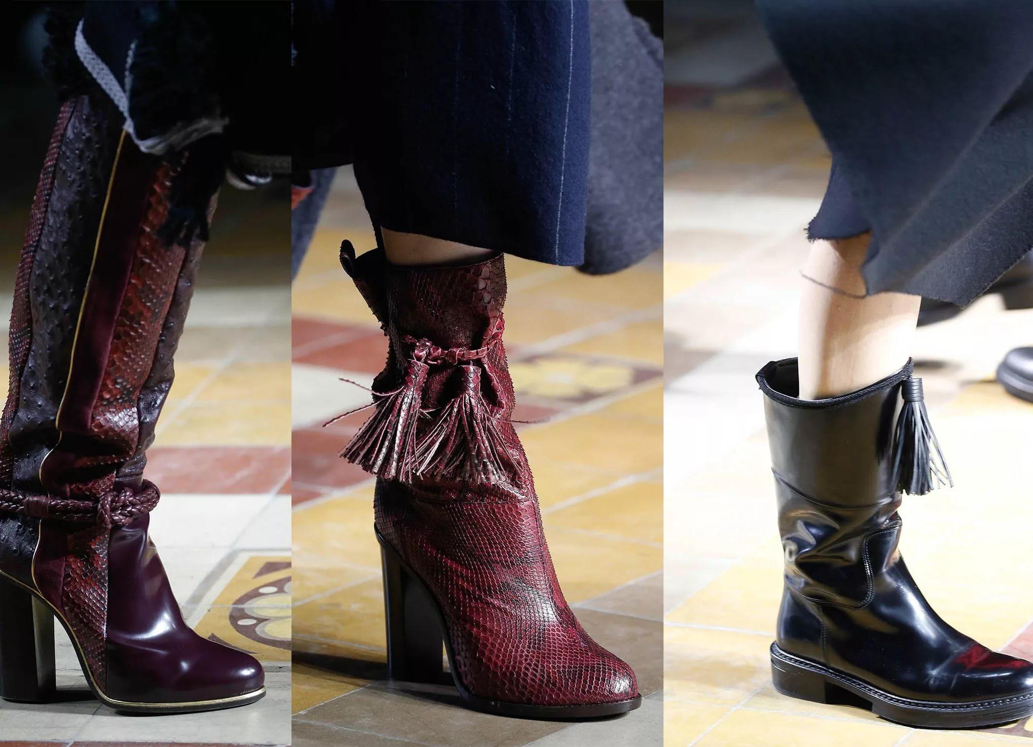 Зимняя женская обувь 2017-2018