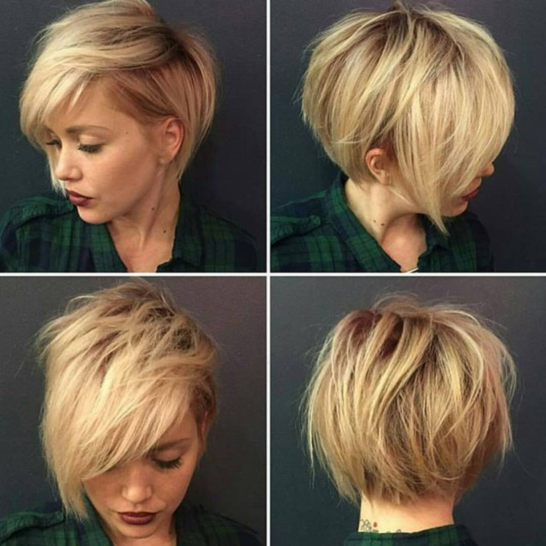 Стрижки короткие из тонких волос 2018