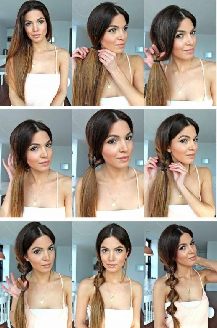 Причёски на длинные волосы в домашних условиях своими руками на каждый день
