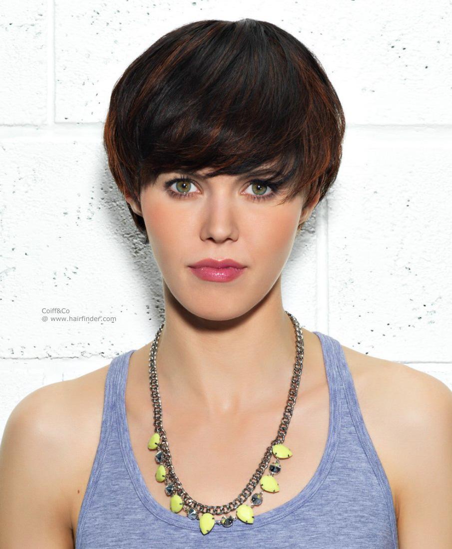 Фото женские стрижки шапочка на средние волосы 89