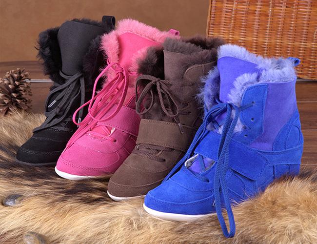 Зимние кроссовки – сникерсы